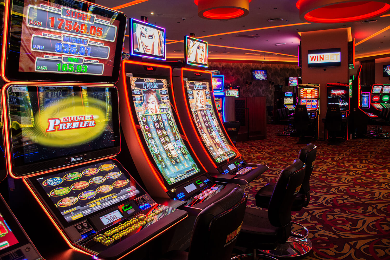 About counterfeiting slot machines