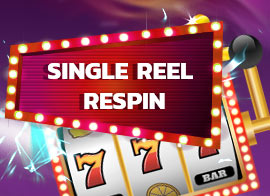 Single Reel Respin in Casino – features an option